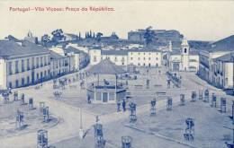 VILA  VIÇOSA  Praça Da Republica   2 Scans  PORTUGAL - Evora
