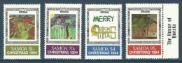 Samoa 1994 ( Children's Christmas Paintings ) - MNH (**) - Samoa