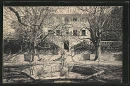 CPA Tholonet, Brunnen Vor Dem Schloss - Non Classés
