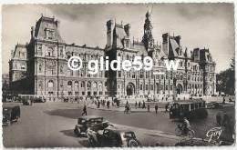 PARIS Et Ses Merveilles - L'Hôtel De Ville (animée) - N° 3.083 - Other Monuments