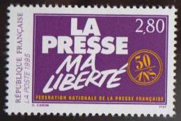 French National Press Federation, Journalism, MNH 1995 Scott 2448 France - France