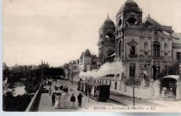 - FRANCE (17) - CPA Vierge ROYAN - Le Casino De Foncillon (avec Personnages Et Train à Vapeur) - Editions Lévy N° 62 - - Royan