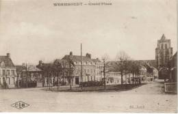 CPA WORMHOUDT (Nord) - Grand'Place - Wormhout