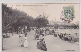 CPA DPT 17 ROYAN, SQUARE BOTTON ET EGLISE NOTRE DAME En 1907!! - Royan