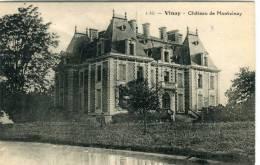 CPA 38 VINAY CHATEAU DE MONTVINAY - Vinay