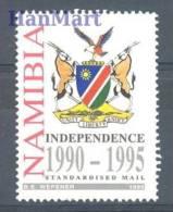 Namibia 1995 Mi 788 MNH - Crest, Deer, Bird, Independence - Timbres