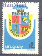 Uruguay 1982 Mi 1651 Mnh - Timbres