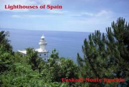 Lighouses Of Spain - Euskadi/Monte Igueldo Postcard Collector - Faros