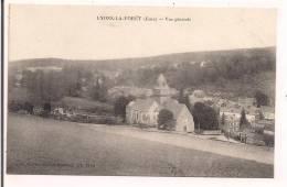 27 - LYONS La FORET : Vue Générale - Collection Souplet, Recette Buraliste - Au Premier Plan église Et Cimetière - - Lyons-la-Forêt
