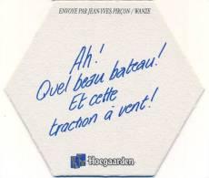 #D13-148 Viltje Hoegaarden 31/12/97 - Sous-bocks