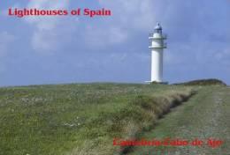 Lighouses Of Spain - Cantabria/Cabo De Ajo Postcard Collector - Faros