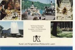 KUNST UND KONGRESSHAUS RESTAURANTS LUZERN   SCHIFF  VW KÄFER - LU Lucerne