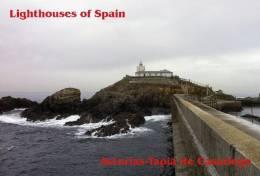 Lighouses Of Spain - Asturias/Tapia De Casariego Postcard Collector - Faros
