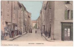 CPA 83 - Les ARCS - GRANDE RUE - COLORISEE - Excellent état - France