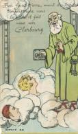 Bon Saint Pierre, Avant D'entrer Au Paradis Ouvre Nous La Porte Et Fait Nous Voir Cherbourg, Le Goubey éditeur - Humor