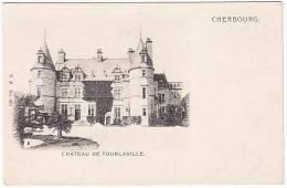 1475-France 50-Environ De Cherbourg-Le Chateau De Tourlaville-Ref VP No 695 - Cherbourg