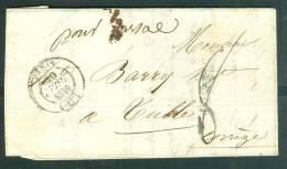 CAD Paris (c) En 1839 Sur Lac  Pour Tulle ( Corrèze)   - Am3408 - 1801-1848: Précurseurs XIX