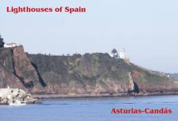 Lighouses Of Spain - Asturias/Candás Postcard Collector - Faros