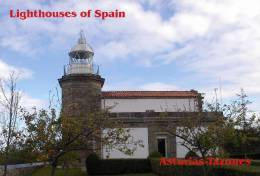 Lighouses Of Spain - Asturias/Tazones Postcard Collector - Faros