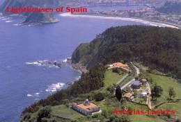 Lighouses Of Spain - Asturias/Ribadesella Postcard Collector - Faros