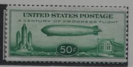 USA UNITED STATES 1933 MCHL 358 ZEPPELIN AIRMAIL LUCHTPOST LUFTPOST    MNH ** POSTFRIS NEUF - Poste Aérienne