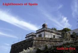 Lighouses Of Spain - Galicia/Oza Postcard Collector - Faros