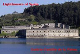 Lighouses Of Spain - Galicia/Castillo De La Palma Postcard Collector - Faros