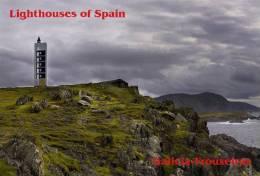 Lighouses Of Spain - Galicia/Frouxeiras Postcard Collector - Faros