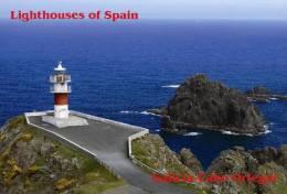 Lighouses Of Spain - Galicia/Cabo Ortegal Postcard Collector - Faros