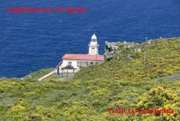 Lighouses Of Spain - Galicia/Candieira Postcard Collector - Faros