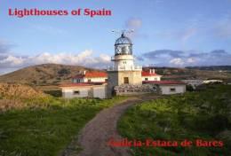 Lighouses Of Spain - Galicia/Estaca De Bares Postcard Collector - Faros