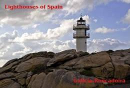 Lighouses Of Spain - Galicia/Roncadoira Postcard Collector - Faros