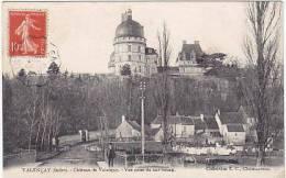 1488-France 36-Chateau De Valencay-Vue Prise Du Bas Bourg-Animee-Collection EC-Chateauroux - France