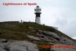 Lighouses Of Spain - Galicia/San Ciprián Postcard Collector - Faros
