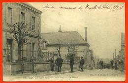 CPA 37 NEUILLE-le-LIERRE La Mairie ° Phot D. C. Boulifard ° Animée Animation - Autres Communes