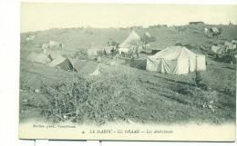 MAROC/ EL-GRAAR, Les Ambulances (Maillet Phot. Casablanca) - Maroc