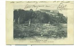 MAROC/ Casbah ZIDANIA, L'Oued, La Cascade - Colonne De Tadla - Maroc