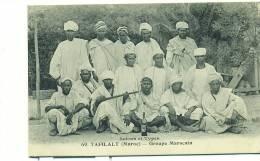 MAROC/ TAFILALT, Groupe Marocain, Scènes Et Types - Maroc