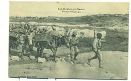 MAROC/ Les Routes Au Maroc, Passage D'Oued à Gué (MILITAIRES) - Maroc