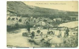 MAROC/ Camp Berteaux, Une Passerelle Sur L'Oued Zâa (MILITAIRE) - Maroc