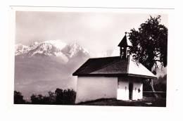 Combloux La Chapelle De Médonnet Et Le Mont Blanc - Combloux