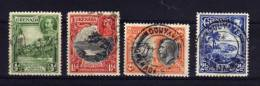Grenada - 1934 - George V Definitives (Perf 12½, Part Set) - Used - Grenade (...-1974)