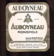 Etiquette   Eau De Vie Monopole  -  Auboyneau - Labels