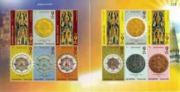 THAILAND - 2008 - Mi 2662-2673 - THAI AMULET CHATUKHRAM RAMMATHEP SHEETLET - MNH ** - Thailand