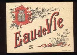 Etiquette   Eau De Vie  -  25° - Labels