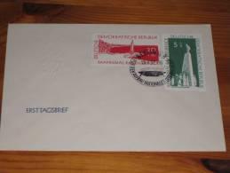 FDC DDR Ersttagsbrief Deutschland 1957 Aufbau Nationaler Gedenkstätten - FDC: Briefe
