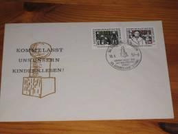 FDC DDR Ersttagsbrief Deutschland 1957 175. Geburtstag Von Friedrich Fröbel Kinder Kids - [6] Democratic Republic