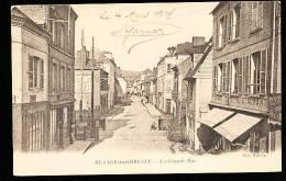 76 BLANGY SUR BRESLE / La Grande Rue / - Blangy-sur-Bresle