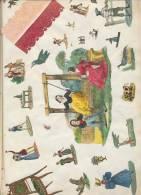 DUTCH PIONEER SCRAPBOOK Nederlands PLAKBOEK Uniek Unique 1842-1862 (34x22 Cm) 41 Scans! Top Quality - Must See - Andere