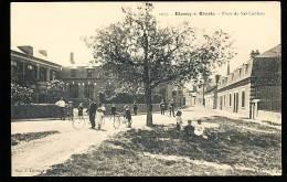 76 BLANGY SUR BRESLE / Place Du Val Cailleux / - Blangy-sur-Bresle